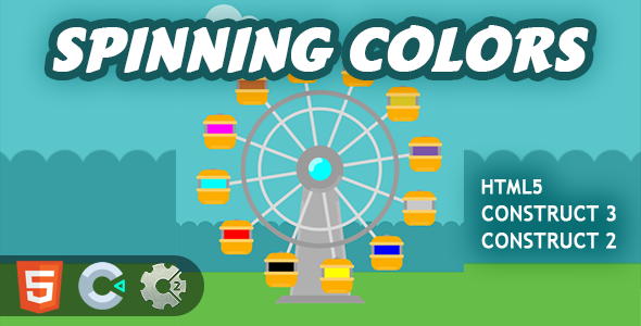 [Free Download] Spinning Colors HTML5 Construct 2/3 Game (Nulled) [Latest Version]