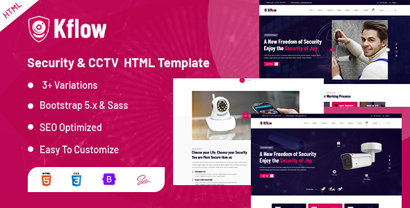 [Free Download] Kflow – Security & CCTV HTML Template (Nulled) [Latest Version]