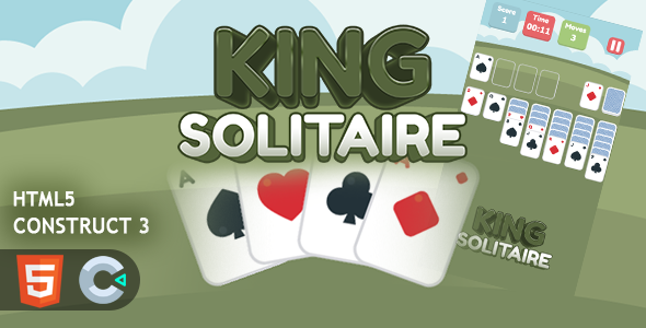 [Free Download] King Solitaire HTML5 Construct 3 Game (Nulled) [Latest Version]