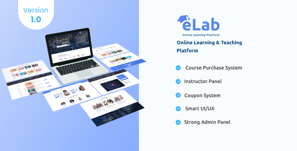 [Free Download] eLab – Online Learning And Teaching Platform (Nulled) [Latest Version]