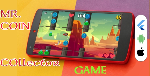 [Free Download] MR. Coin Collector Flutter 2D Game (Nulled) [Latest Version]