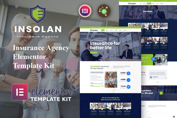 [Free Download] Insolan – Insurance Agency Elementor Template Kit (Nulled) [Latest Version]