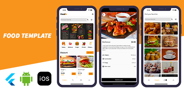 [Free Download] Foodie – Flutter Food Ordering Template (Nulled) [Latest Version]