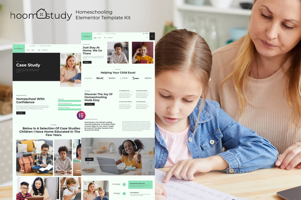 [Free Download] Hoomstudy – Homeschooling Elementor Template Kit (Nulled) [Latest Version]