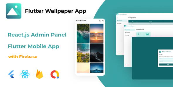 [Free Download] Flutter Wallpaper App + React.js Admin Panel (with Firebase) (Nulled) [Latest Version]