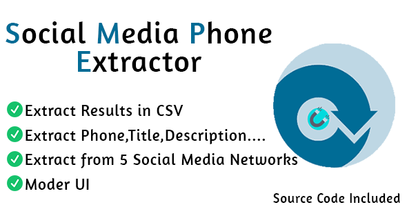 [Free Download] Social Media Phone Extractor Pro (Nulled) [Latest Version]